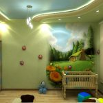 Фото 68: Освещение фотообоев в детской