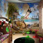 Фото 91: Фотообои для детской комнаты для мальчика фото