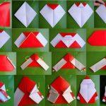 Фото 23: Дед Мороз оригами своими руками