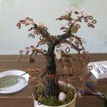 Фото 34: Денежное дерево из бисера с монетками