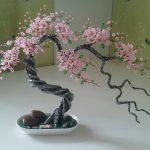 Фото 33: Дерево счастья из бисера