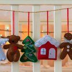 Фото 64: Игрушки из фетра новогодние