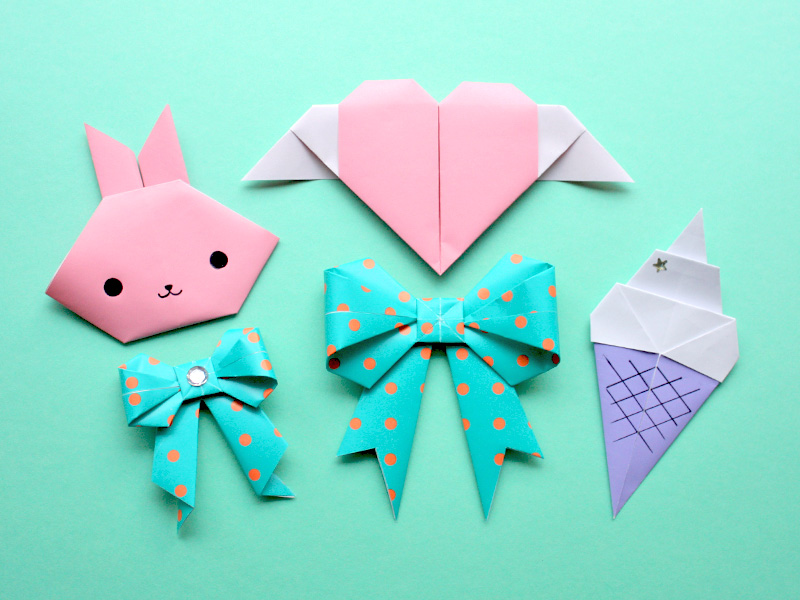 игрушки оригами