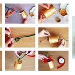 Фото 38: Изготовление колокольчиков из бумажных стаканчиков