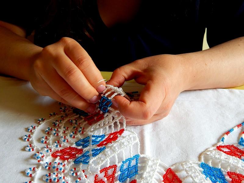 мастер-класс по изготовлению украшений из бисера