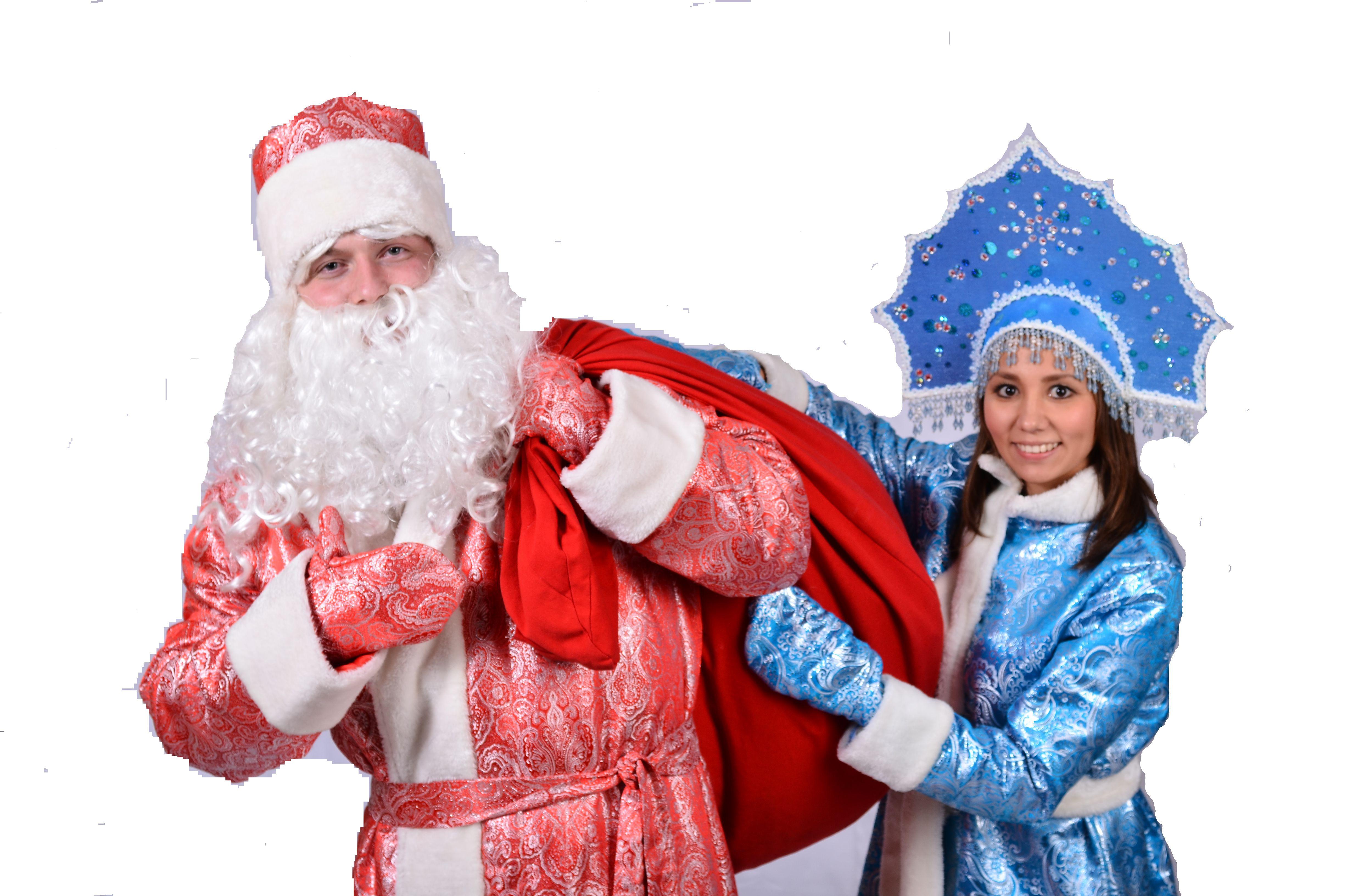 Костюмы Деда Мороза и Снегурочки на Новый Год