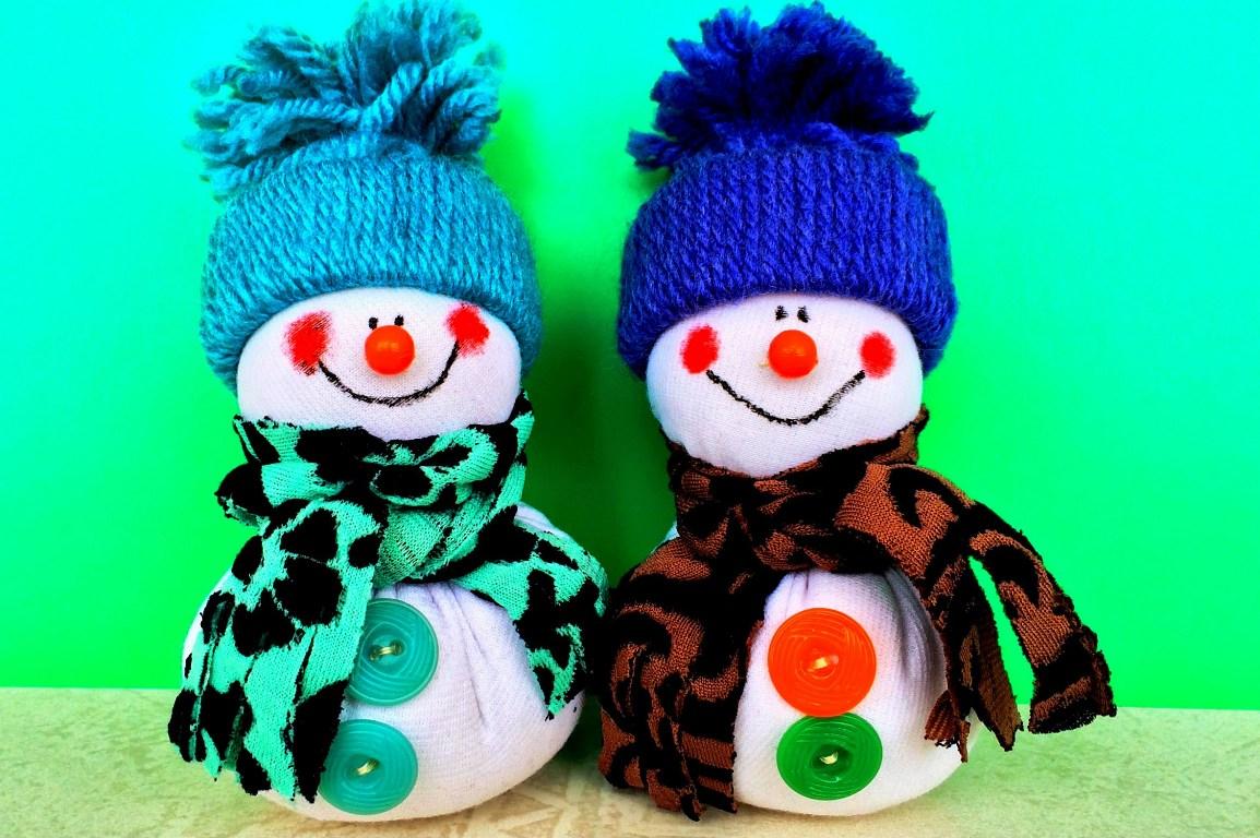 поделки на новый год снеговики фото судебным записям