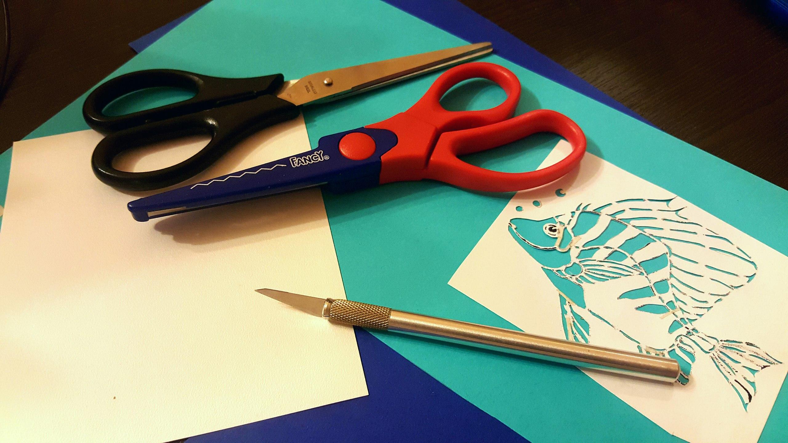картинки которые вырезают ножницами предлагаем