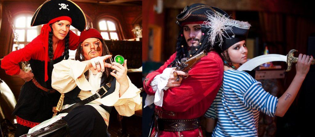 Пиратские костюмы на карнавал