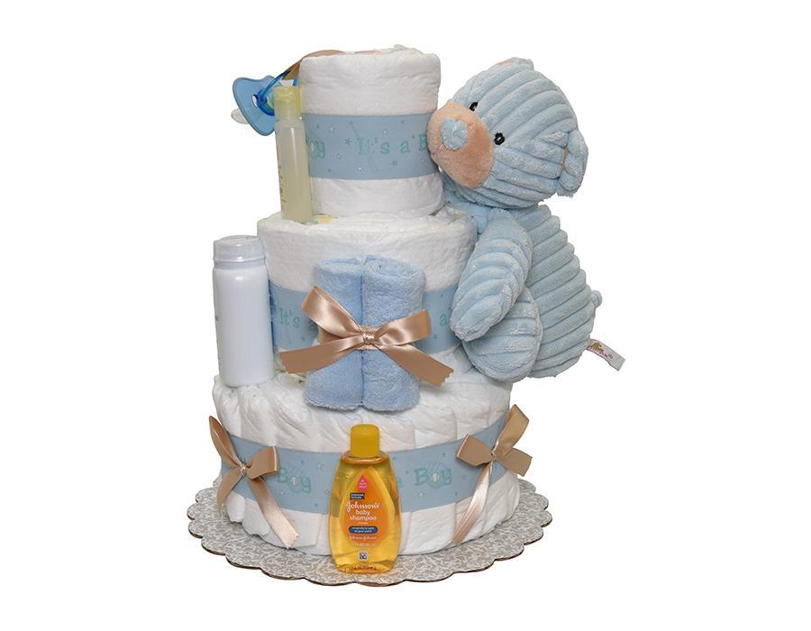 Оригинальный торт из подгузников