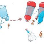 Фото 50: Ракета из шарика из стаканчика