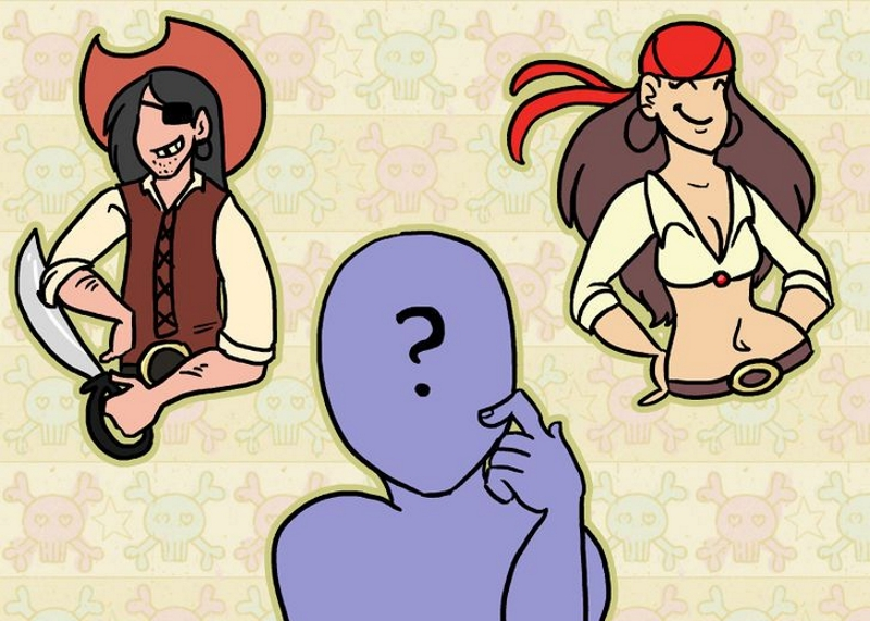 Выбор пиратского костюма