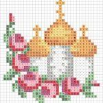 Фото 80: Схема храма из бисера