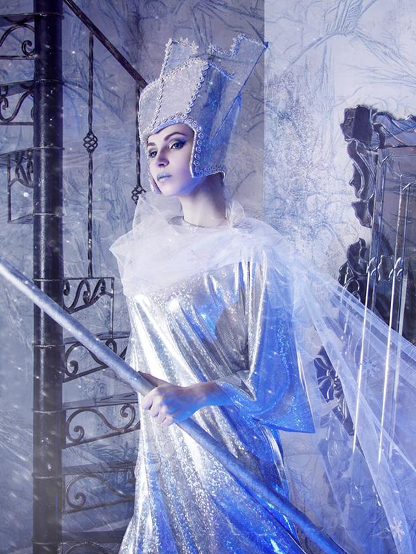 Образ снежной королевы на Новый Год