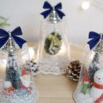 Фото 41: Снежный шар из прозрачного стаканчика