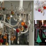 Фото 20: Новогоднее украшение люстры