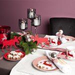 Фото 19: Новогоднее украшение стола