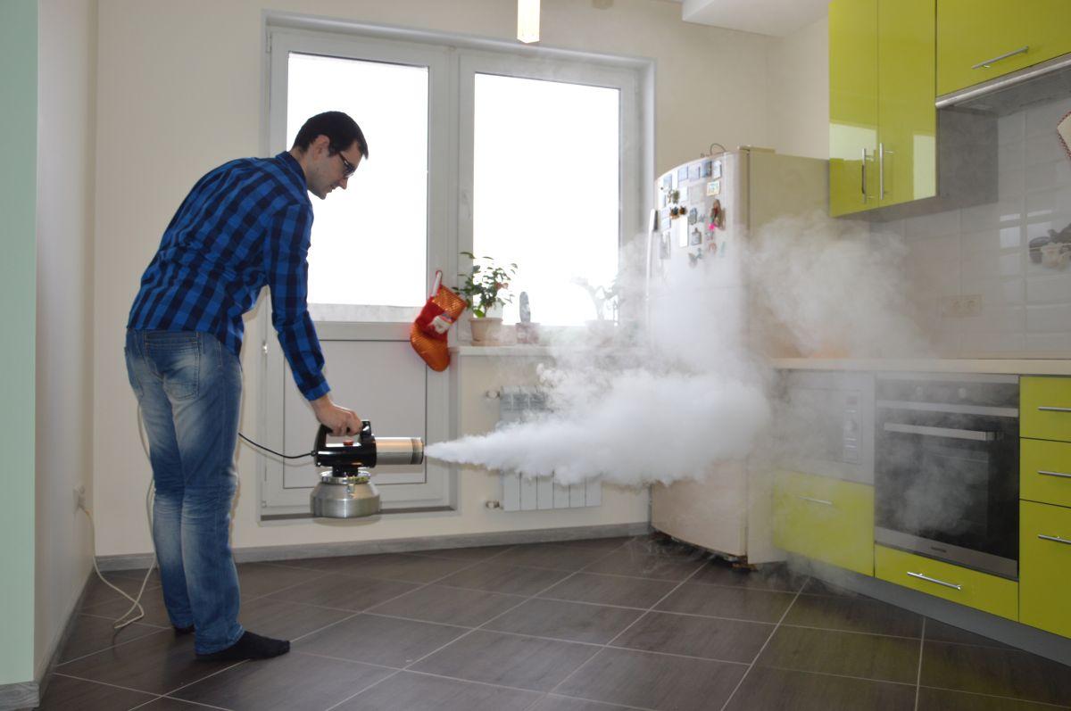 Устранение запаха гари в квартире