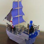 Фото 30: Корабль поделка
