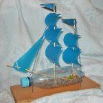 Фото 41: Поделка кораблик