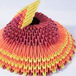 Фото 11: Фестивальная шляпа в технике модульного оригами
