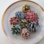 Фото 74: Разноцветные шишки