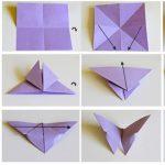 Фото 53: Как сделать бабочку оригами своими руками