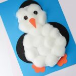 Фото 38: Пингвин украшенный ватой