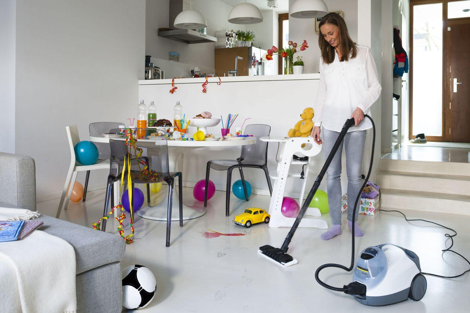 Уборка квартиры под легкую музыку