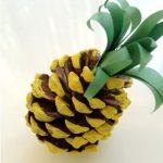 Фото 87: Поделка пнанас из шишек