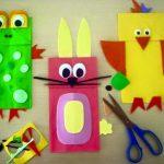 Фото 21: Веселые зверюшки из цветной бумаги и бумажных пакетов
