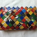 Фото 63: Декор сумочки обертками