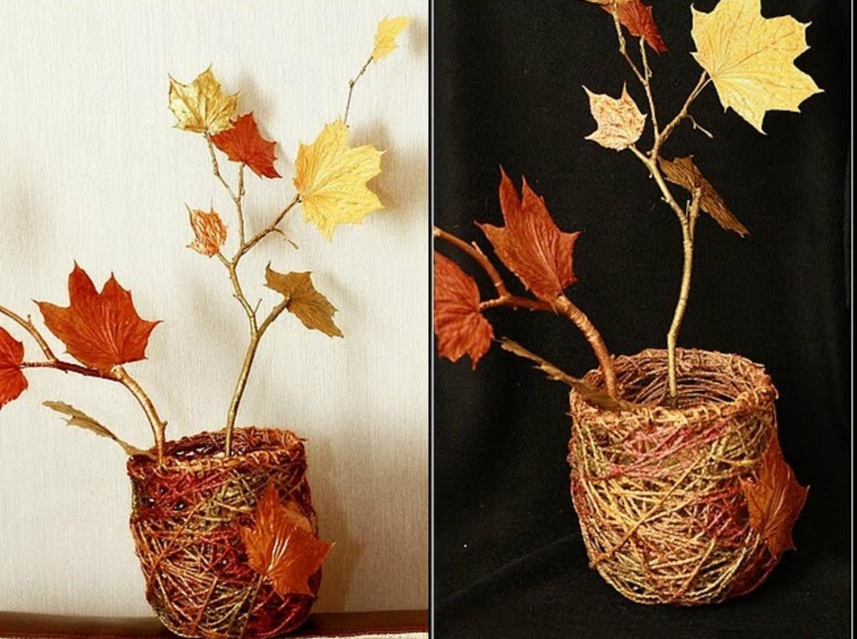 Декоративные вазочки добавляют интерьеру уюта и романтичности