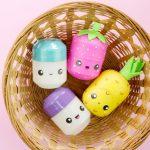 Фото 83: Фрукты и ягоды из киндер контейнеров