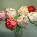 Фото 14: Розы в технике оригами
