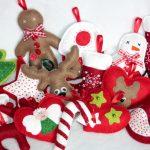Фото 41: Новогодние игрушки из фетра
