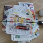 Фото 13: Необходимое для изготовления газетных трубочек