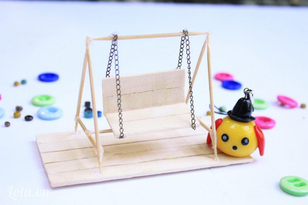 Палочки можно использовать для изготовления любых предметов