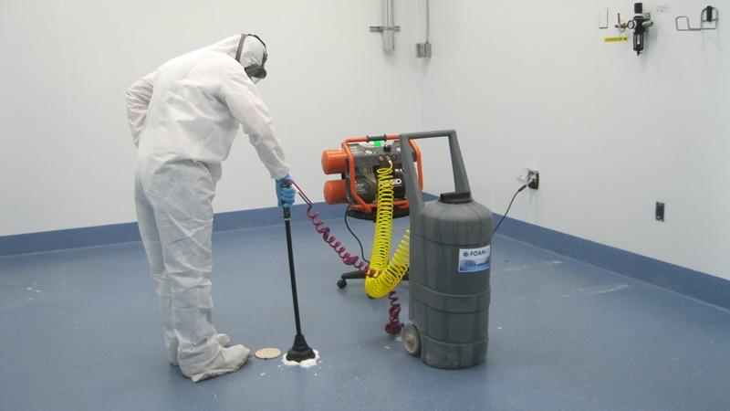 Для устранения трупного запаха используют спецаппаратуру
