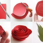 Фото 15: Изготовление бумажной розы