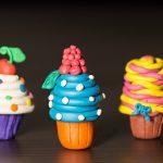 Фото 15: Кексы из полимерной глины