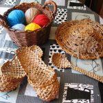 Фото 23: Декоративный набор вещей из газетных трубочек
