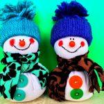 Фото 33: Новогодние снеговички
