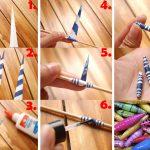 Фото 5: Как сделать бумажные бусы своими руками