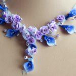 Фото 22: Ожерелье из полимерной глины