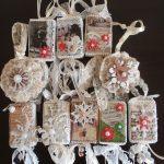 Фото 38: Новогодние украшения в стиле шебби-шик