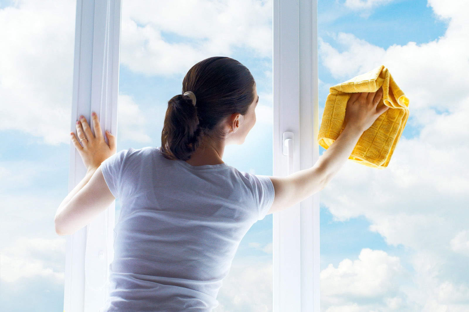 Мытье окна без разводов