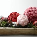 Фото 27: Шары и бумажных роз