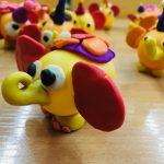 Фото 64: Слоник из яйца