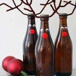 Фото 54: Украшение бутылок к Новому Году